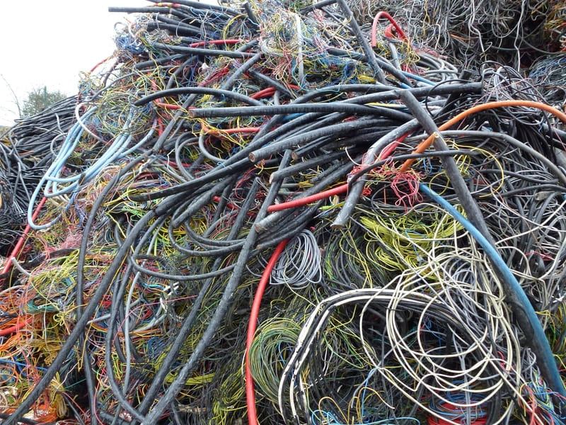 Приём лом кабеля